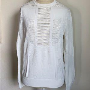 Torn by Ronny Kobo faige geo pointelle sweater